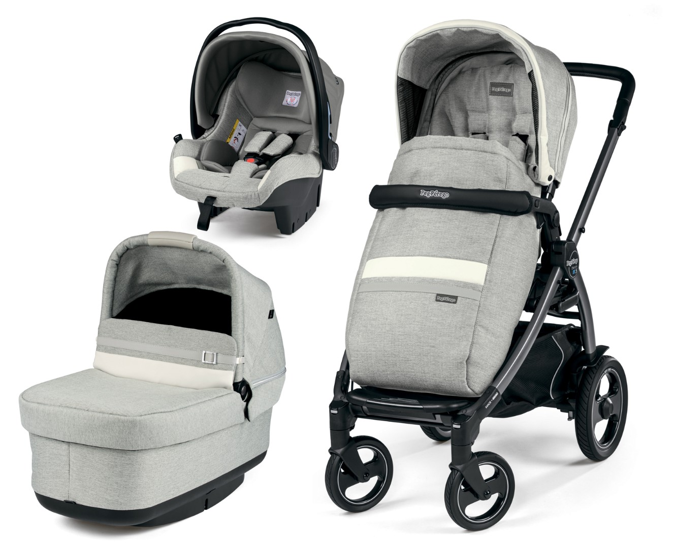 Коляска 3 в 1 Peg-Perego  Book 51 S Pop-Up SL Luxe Mirage