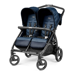 Коляска для двойни Peg Perego Book For Two Indigo