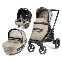 Коляска 3 в 1 Peg Perego Team Elite SL Luxe Pure