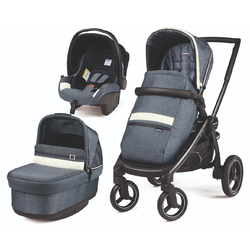 Коляска 3 в 1 Peg Perego Team Pop-Up SL Luxe Mirage