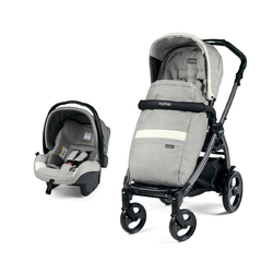 Коляска 2 в 1 Peg Perego Book 51 SL Travel System Luxe Ecru
