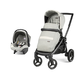 Коляска 2 в 1 Peg Perego Team SL Travel System Luxe Pure