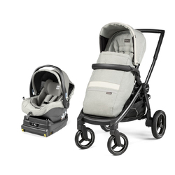 Коляска 2 в 1 Peg Perego Team i-Size Travel System Luxe Mirage