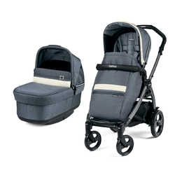 Коляска 2 в 1 Peg Perego Book 51 Pop-Up Combo Luxe Pure
