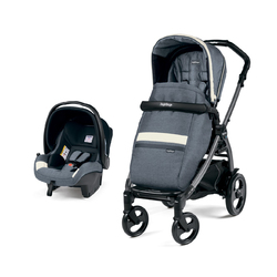 Коляска 2 в 1 Peg Perego Book 51 SL Travel System Luxe Mirage
