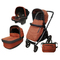 Коляска 3 в 1 Peg Perego Book S Pop Up Terracotta