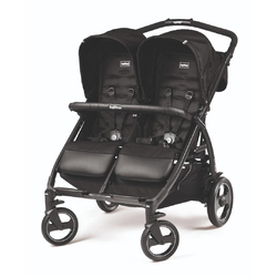 Коляска для двойни Peg Perego Book For Two Class Black