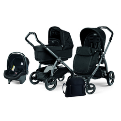 Коляска 3 в 1 Peg Perego Book S Pop Up Onyx
