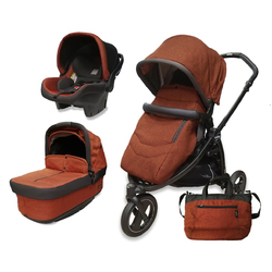 Коляска 3 в 1 Peg Perego Book Scout Pop Up Terracotta